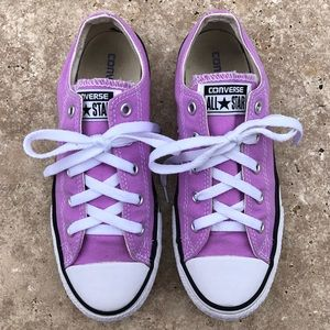 Purple Converse All Stars - Youth Size 3